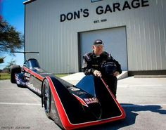 Electric Drag Car--pretty cool!