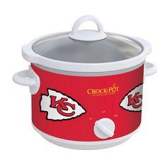 Go Chiefs Chiefs Game, Kansas City Chiefs, Crock Pot Slow Cooker, Crockpot, Cool Gadgets, Nfl, Sweet Home, Kitchen, Gift Ideas