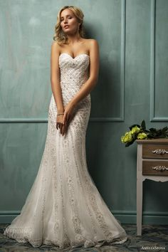 Gorgeous Bridal Dresses By Amelia Sposa – Collection 2014