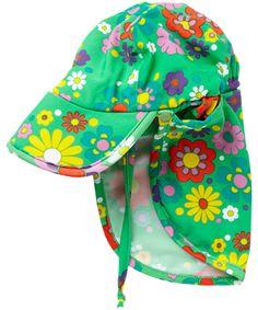 Ej Sikke Lej adorable flower printed UV protective suncap. ej-sikke-lej.en.emilea.be