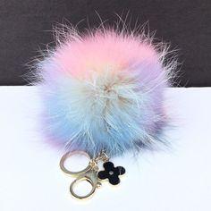 NEW Dimensional Swirl Raccoon Fur Pom Pom luxury bag  charm with flower Keychain #furbagchains #Furbagcharm #furkeychain #furpom #furkey #keychain #furpompom #pomomkeychain #pompom #pompon #bagporn #bagcharm #baglover #instalike #instalove #fashionaddict