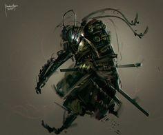 Samurai by benedickbana.deviantart.com on @DeviantArt