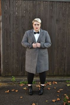 Experiment with a longer coat. | 19 Ways To Rock Androgynous Style Like No Other