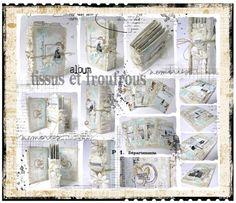 Nouveau mini kit-atelier : album tissus & froufrous - Scrappadingue - Le scrap d Elodie Touzet iggydodie