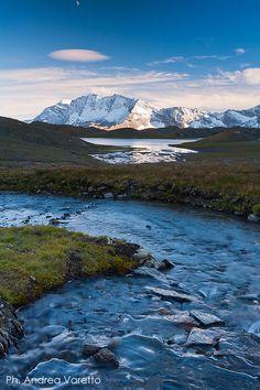 Levanne, Col del Nivolet tra Piemonte e Valle d'Aosta Italy