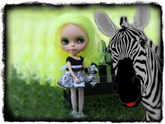 Blythe A Day ~ August 2014 ~ Day 20: Black & White | Flickr - Photo Sharing!