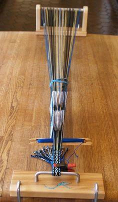 Simple Looms - cardweaving loom