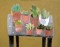The Cactus Table by Elaine Pamphilon