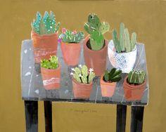 The Cactus Table by Elaine Pamphilon