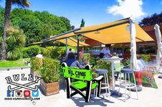 """Hace un día perfecto para ir a comer a mediodía a la terraza del #vamosalbully #Donostia #SanSebastian y cargar energias al sol para la fiesta """"Nos vemos en EL CINE"""" de esta noche en el @gusansebastian A disfrutar!"""