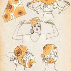 Scarf how-to Bust Magazine