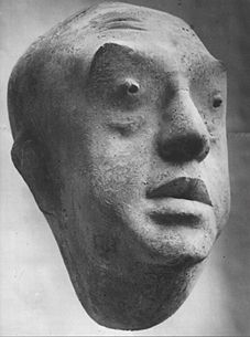 Bernhard Heiliger :: Ernst Reuter portret, 1957