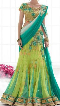 Heavy Design Floral Print Half Saree   Buy Online lahengha   Elegant Fashion Wear Price ;7600 #partywear #floralprint #designer #lahengha#halfsaree