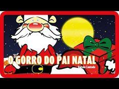 O gorro do Pai Natal   NATAL - YouTube Christmas Fun, Ronald Mcdonald, Alice, Snoopy, Fictional Characters, 1, Youtube, Songs Of Christmas, Santa Sack