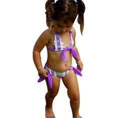 ca3b54db6ad49 MUQGEW Baby Girl Bikini Set Floral del traje de Baño Del Bebé traje de Baño  Traje