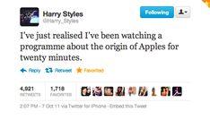 That's so Harry haha