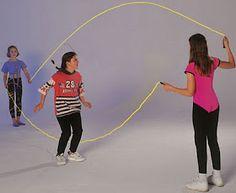 touwtje springen, dubbele touwen