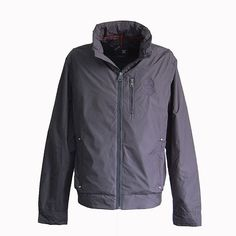 Tiger Force Brand Men Casual Jacket Spring Fashion Jacket Coat Zipper
