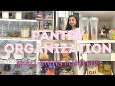 PANTRY ORGANIZATION | HOW TO ORGANIZE A SMALL PANTRY | EXTREME PANTRY MAKEOVER | - YouTube Pantry Makeover, Small Pantry, Pantry Organization, Diy Storage, Organize, Youtube, Projects, Log Projects, Blue Prints