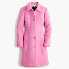 """The last layer should make a great first impression: this flattering, feminine coat is cut from our signature double-cloth wool, which we've used in our collection every single year since 2001. It takes color beautifully and is made exclusively for us by Italy's Manifattura di Carmignano mill (known the world over for its exceptional woolen fabrics). <ul><li>Tailored for a fitted look.</li><li>Body length: 37 1/2"""".</li><li>Sleeve length: 32 3/4"""".</li><li>Hits at midthigh.</li><li>Italian…"""