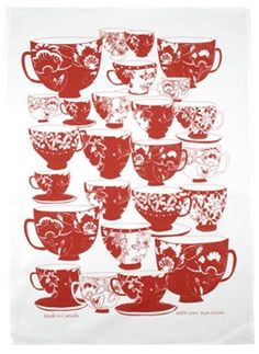 Canadian made Product Offering, Creative Studio, Tea Towels, Art Forms, Rain, Textiles, Artists, Tableware, Illustration