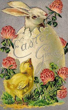Милые сердцу штучки: Пасха: старинные открытки