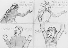 How To Train Your Dragon sketches (3) by spaceMAXmarine.deviantart.com on @deviantART
