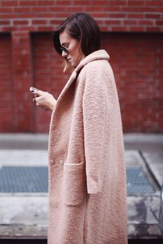 Currently craving: a blush coat | @andwhatelse