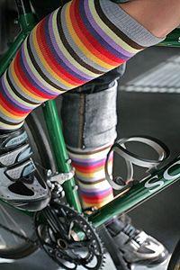 Sock It To Me Portland Striped Knee High - Love these colors! Lots Of Socks, My Socks, Knee Socks, Cool Socks, Striped Knee High Socks, Rainbow Fashion, Knee Highs, Crazy Socks, Colorful Socks