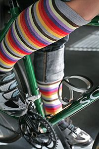 portland knee highs. i like these stripey ones. they even have the team colours in them.