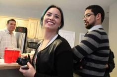 demi lovato / wilmer valderrama-Christmas I am STILL not ok with this