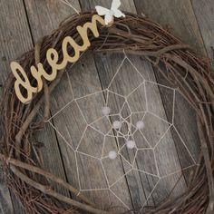 Gemstone Dream Catcher- Large #dream #bohochic #dreamcatcher #bohemian