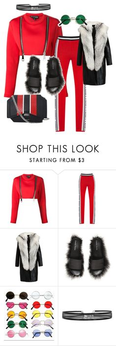 """""""mannequinxo x ride or die .. Mrs huncho"""" by xxxthebombshellfactoryxxx ❤ liked on Polyvore featuring Nicopanda, MSGM, REVILLON, Simone Rocha and Givenchy"""