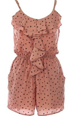 Bow Confetti Romper | Women's Dresses | RicketyRack.com: it's starting to get cool but this would still be adorable!