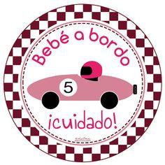Pegatinas de Bebe a Bordo originales de www.nicolasito.es