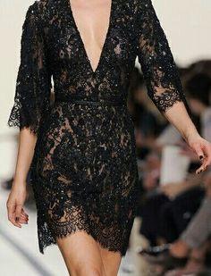 ...sexy black dress!