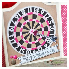 It's a pretty fabulous weekend over at Unity, with LOTS of exciting things happening that I'm about to tell you! Dart Board, Funny Cards, Diy Cards, Happy Valentines Day, Unity, Fathers Day, Card Making, Presents, Paper Crafts
