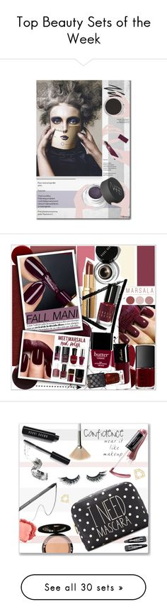 """""""Top Beauty Sets of the Week"""" by polyvore ❤ liked on Polyvore featuring beauty, Lipstick Queen, Smashbox, Bare Escentuals, NARS Cosmetics, BeautyTrend, Beauty, seenonvogue, Deborah Lippmann and Givenchy"""