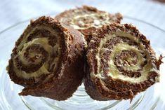 Glutenfri matblogg: Sjokoladerullekake med ostekrem Gluten Free Cakes, Cake Cookies, Muffin, Baking, Breakfast, Food, Eat, Drink, Morning Coffee