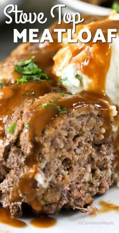 meatloaf recipes Stove Top Meatloaf combines lean ground beef with our favorite seasoned Stove Top Stuffing mix for a delicious dinner with very little effort! Good Meatloaf Recipe, Meat Loaf Recipe Easy, Best Meatloaf, Bundt Pan Meatloaf Recipe, Stove Top Stuffing Meatloaf, Meatloaf With Stuffing Mix Recipe, Stuffed Meatloaf Recipes, Meatloaf With Gravy, Meatloaf Pan