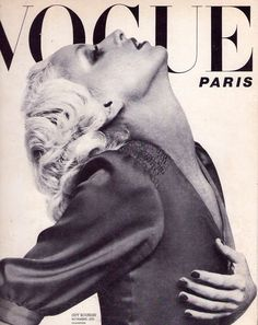 Vintage Paris Vogue cover