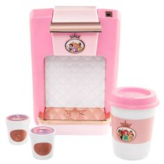 Disney Princess Style Collection Coffee Maker Playset Image 8 of 8 toys Toys Disney Princess Toys, Disney Toys, Disney Princesses, Disney Baby Dolls, Punk Disney, Disney Girls, Disney Movies, Disney Characters, Little Girl Toys