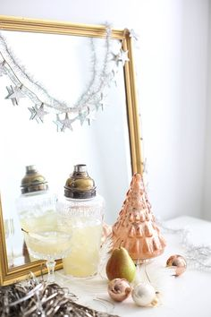 3 Simple, Festive Cocktail Recipes #theeverygirl