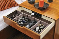 Elia 3 Drawer Nightstand with Power Dock | C F Oakton | Free Shipping