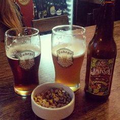En Bodega Cervecera tomando una IPA Jarva Y una Pale Ale de Dust, ambas buenissimass!
