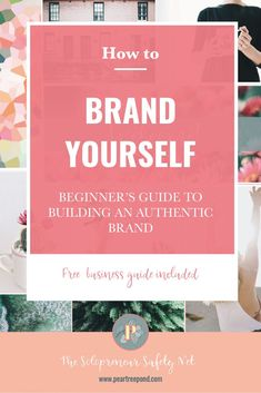 Branding is not just something big companies need to concern themthelves with - branding yourself is just as important if you are a blogger or small business owner. Learn more about the importance of a brand identity and brand development strategies in my beginner's guide to branding. | PearTreePond - The Solopreneur Safety Net #branding #brandyourself #brandidentity #solopreneur #onlinebusiness