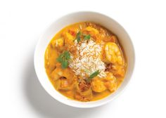 Pumpkin Curry - substitute shrimp for chicken