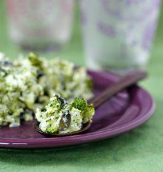 Photo de la recette : Ecrasé de brocolis à la brousse