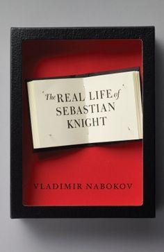 """Vladimir Nabokov, """"The Real Life of Sebastian Knight"""". Designed by Sam Potts (art director: John Gall)."""