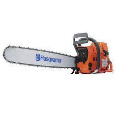 """Husqvarna 395XP 93.6cc 28"""" professional petrol chainsaw"""
